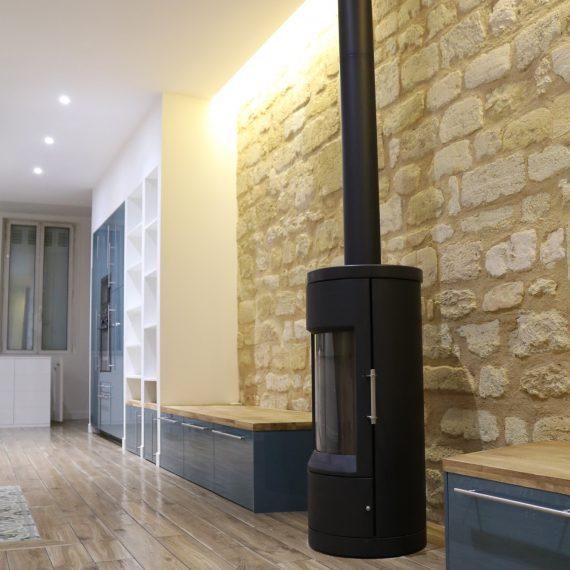 Rénovation d'une échoppe à Bordeaux