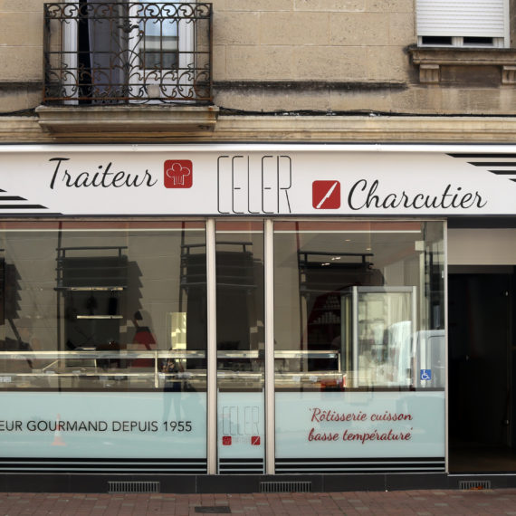 Rénovation d'un magasin Charcuterie Traiteur à Bordeaux