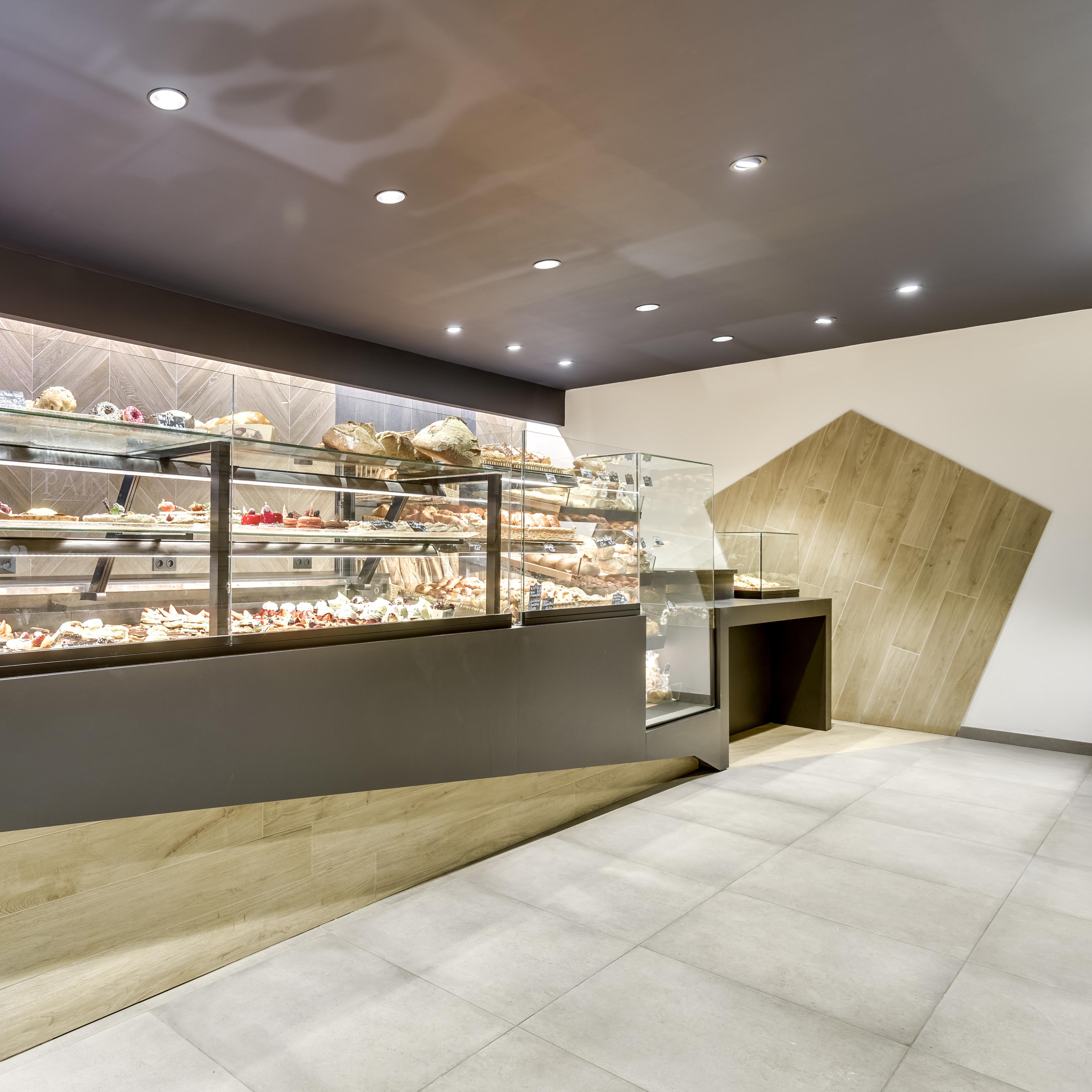 Rénovation du magasin d'une boulangerie à Pessac