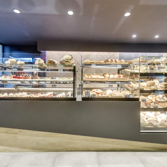 Rénovation du magasin d'une boulangerie pâtisserie à Pessac