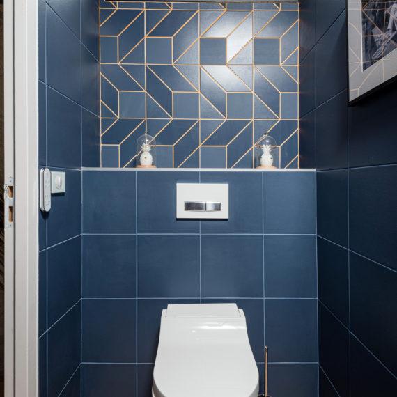 Réalisation d'un WC lavant pour une maison à Mérignac