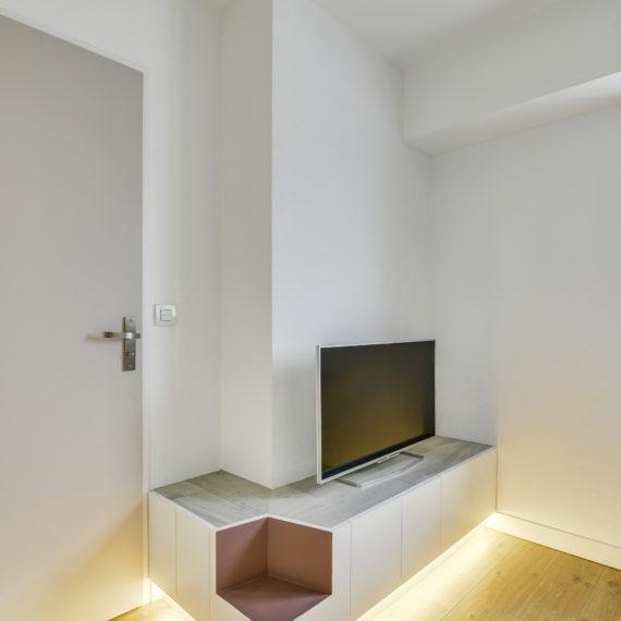 Création d'un meuble TV sur-mesure