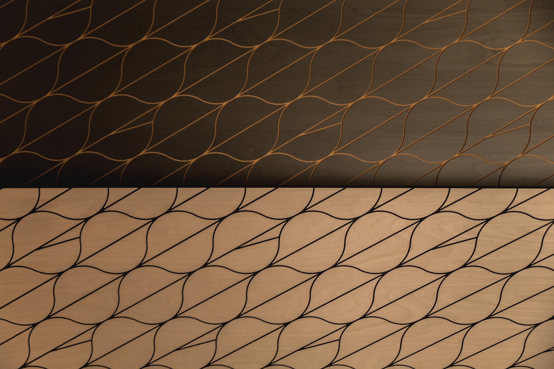 placage bois graphique