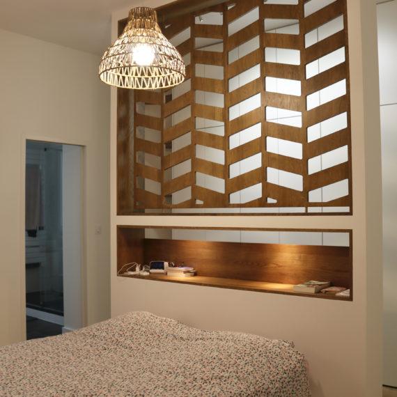 Rénovation totale d'un appartement de 112 m² résolument contemporain, en plein Centre de Bordeaux.
